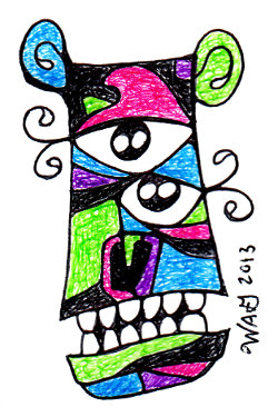 Wayne Gagnon - Bear-ish Doodle