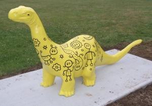 Wayne Gagnon - Dinosaur Statue
